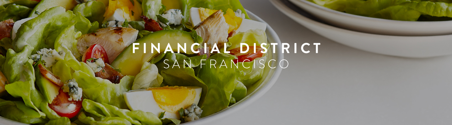 SF // Financial District Menu