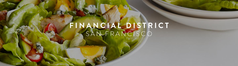 SF // Financial District Menu