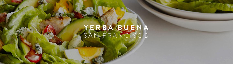SF // Yerba Buena Menu