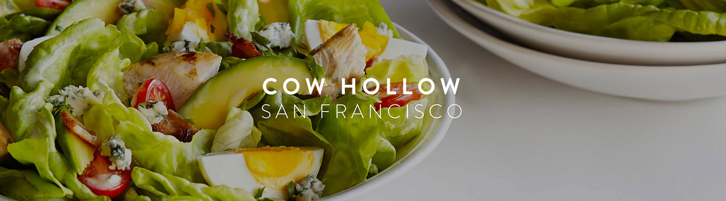 SF // Cow Hollow Menu