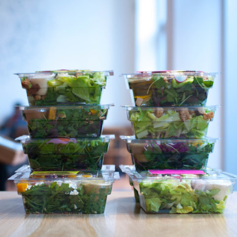 Stacked Salads