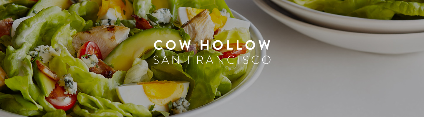 CA // SF Cow Hollow Menu