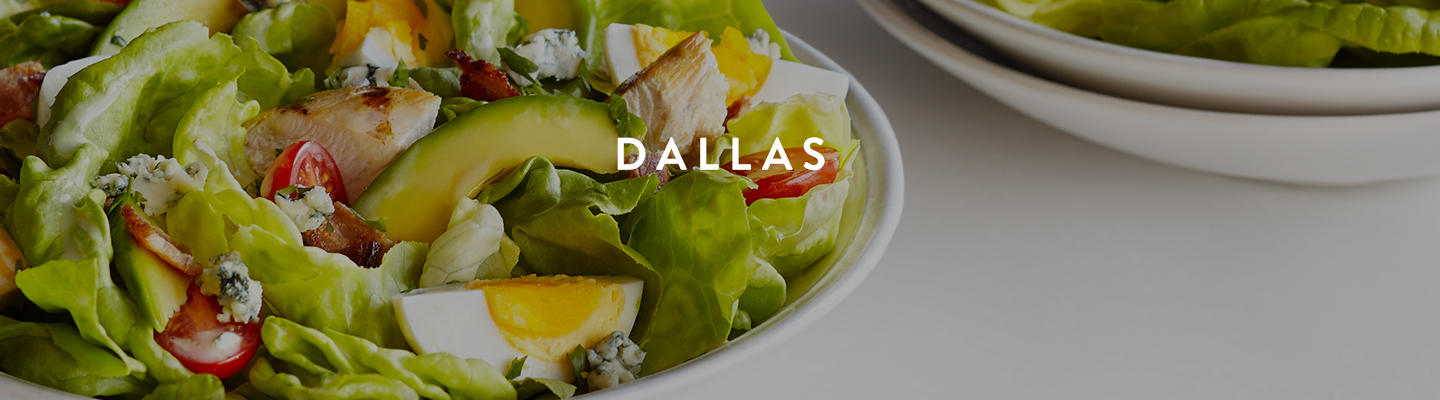 TX // Dallas Menu