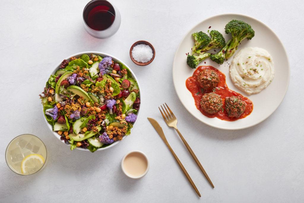MIXT Dinner includes salads, sandwiches, grain bowls or market plates